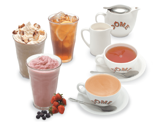 drinks menu ice drink dome dairy flavors cream choice menus international